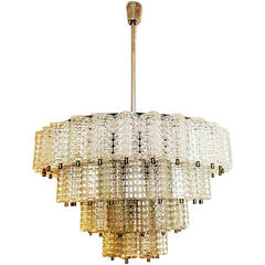Large Austrolux Chandelier from 1960s