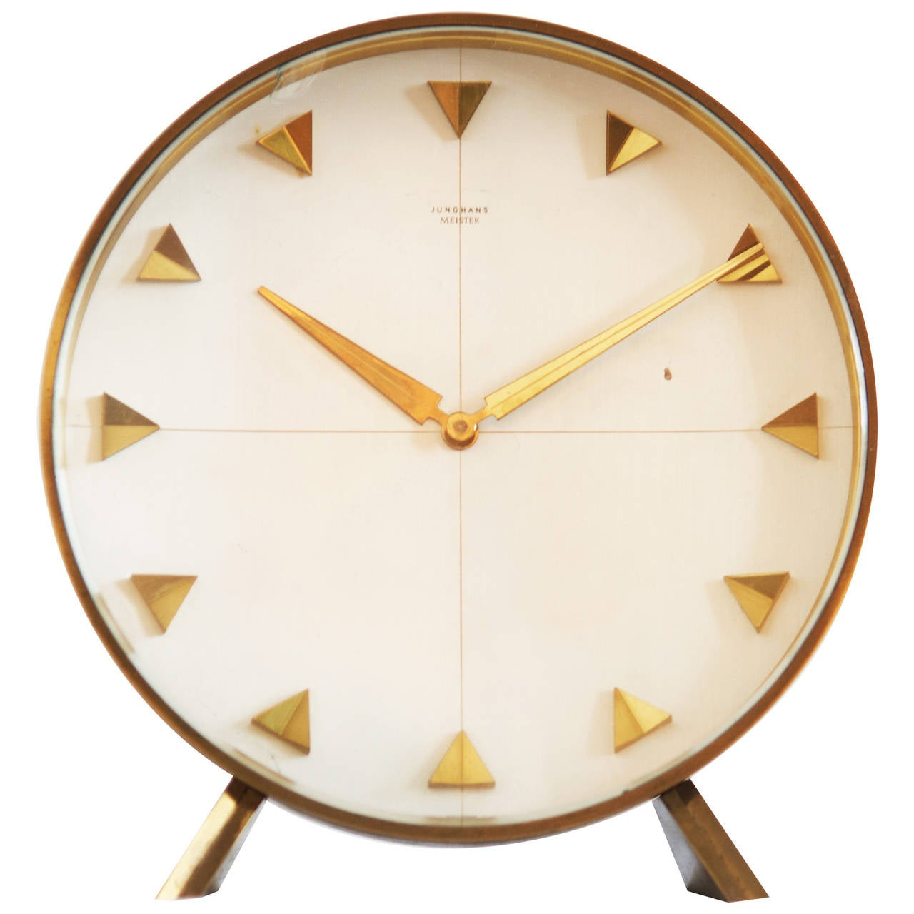 Junghans Table Or Desk Clock From 1960s At 1stdibs