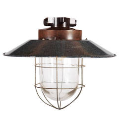 Vintage Industrial Hanging Lamp