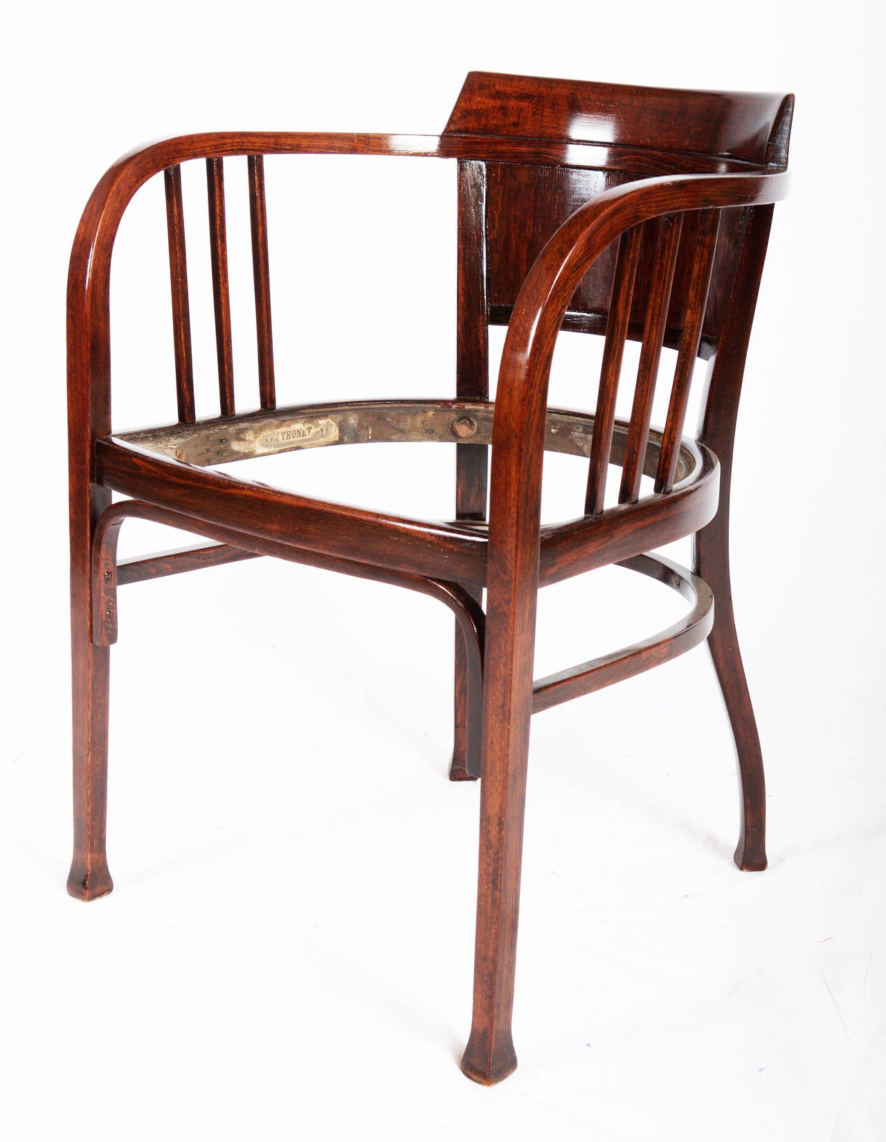 Thonet Armchairs Attributed To Otto Wagner 2