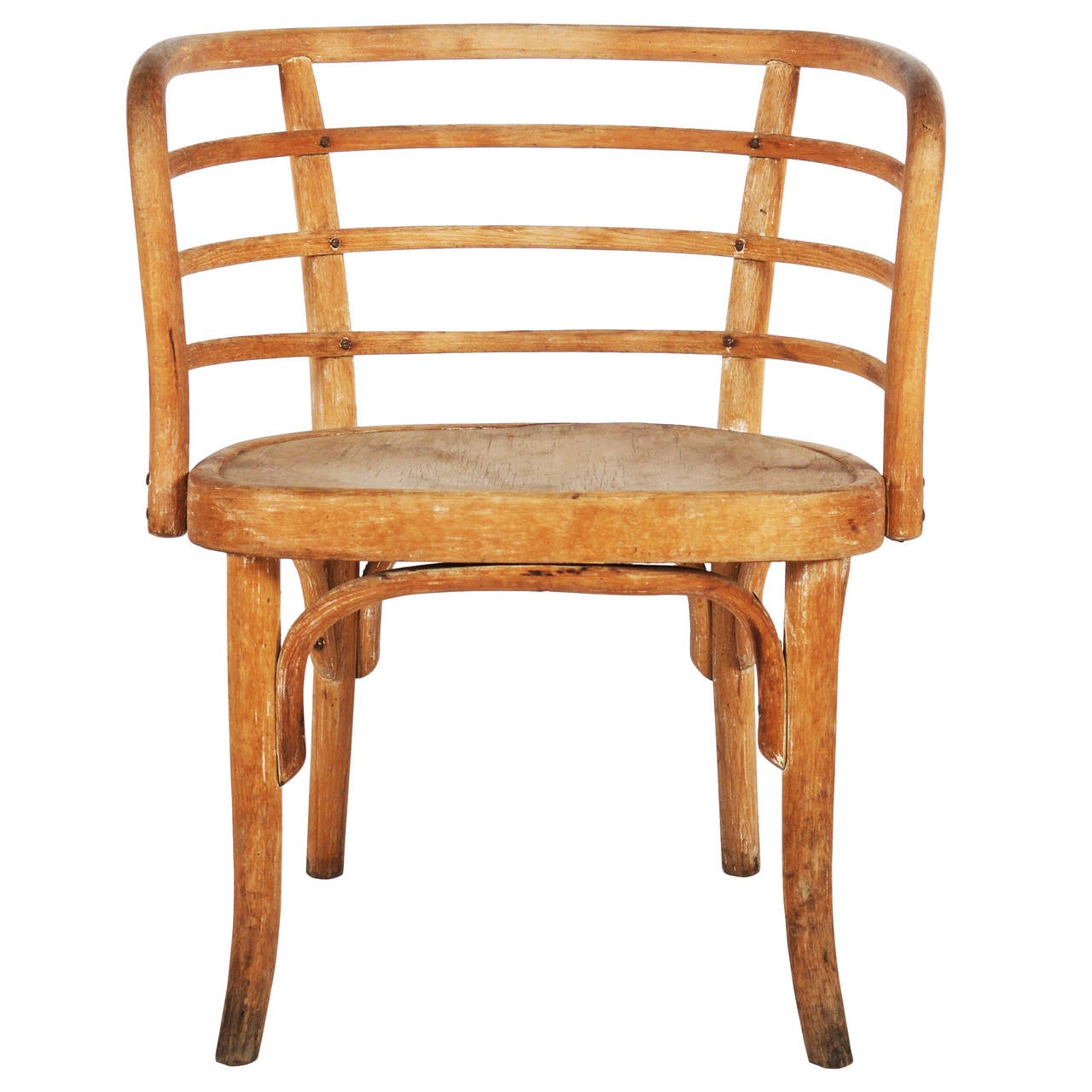 Rare Thonet Armchair Attributed To Josef Frank For Sale At