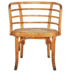 Rare Thonet Armchair Attributed to Josef Frank