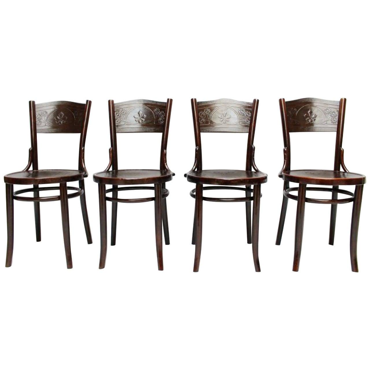 Thonet-Mundus Side Chairs