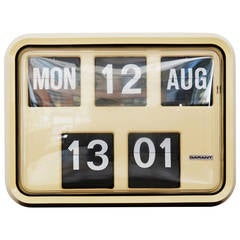 Flip Clock by Garand from 1970s
