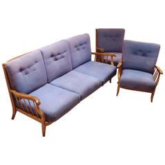 Lounge Suite by Hans Wölfl