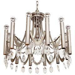 Large Chandelier Attributed to Gaetano Sciolari from 1960s