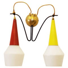 Sconces by Rupert Nikoll, from Early 1950s