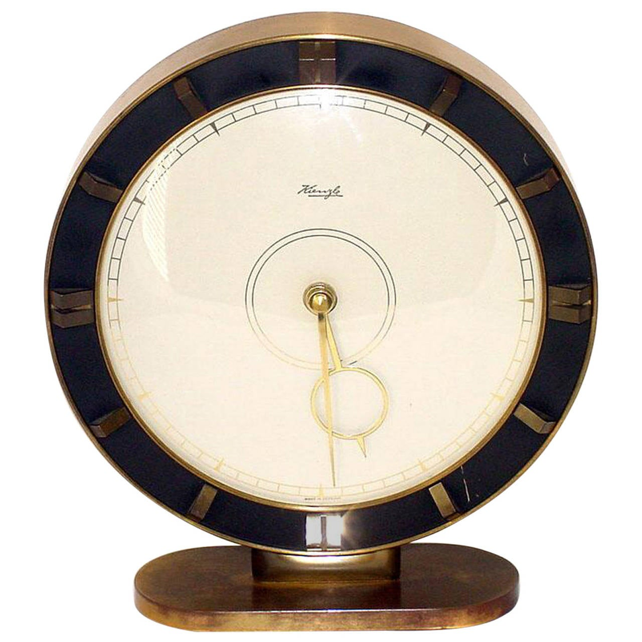 Big Kienzle Art Deco Table Clock, 1930s 1
