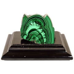 Exceptional Large Grand Tour Malachite Specimen