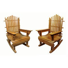 hardwood bedroom furniture american rocking chairs at 1stdibs 11772