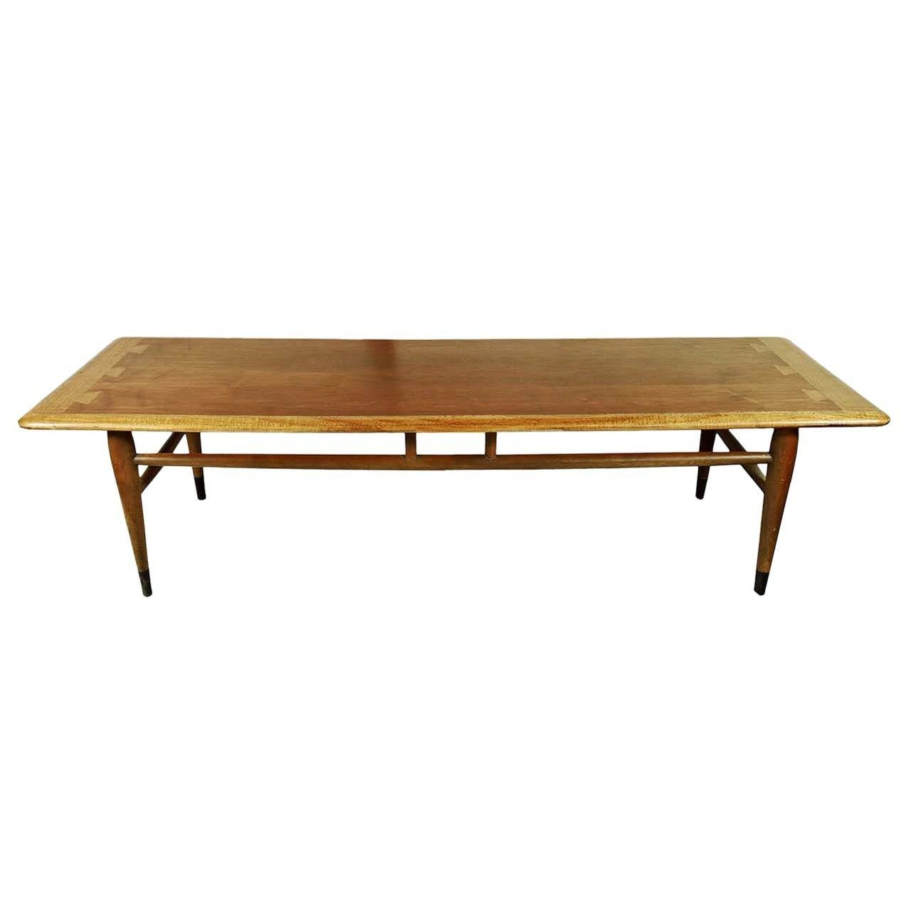 Cb2 Mid Century Coffee Table: Mid-Century Modern Lane Acclaim Series Dovetail Coffee