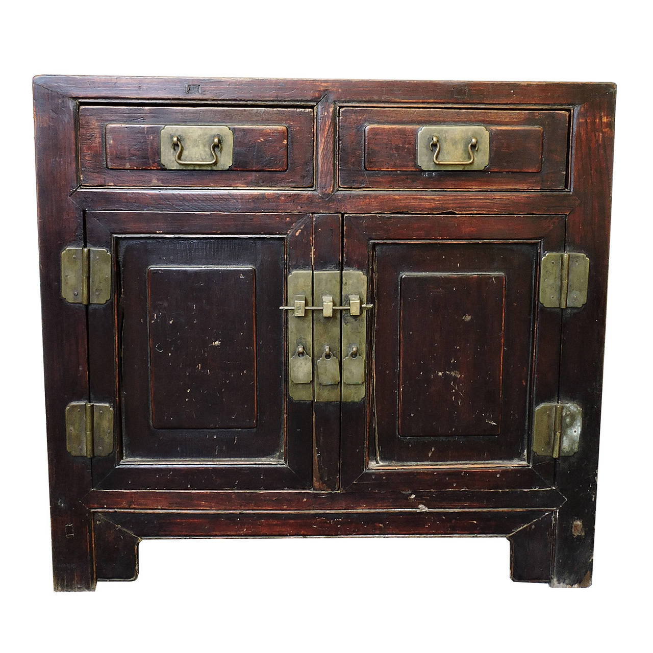 hardwood bedroom furniture elmwood two drawer chest early 19th century for 11772
