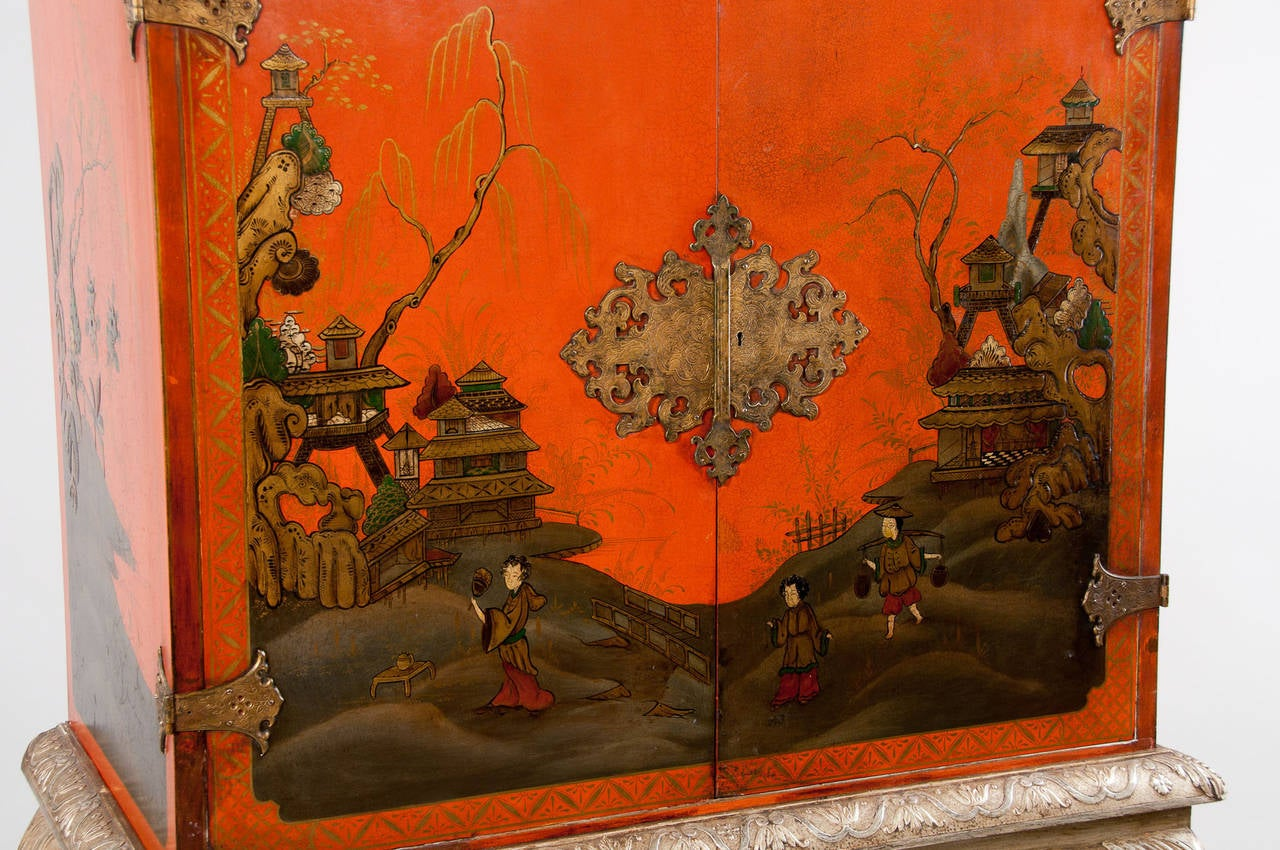1920s Chinoiserie Cocktail Cabinet At 1stdibs