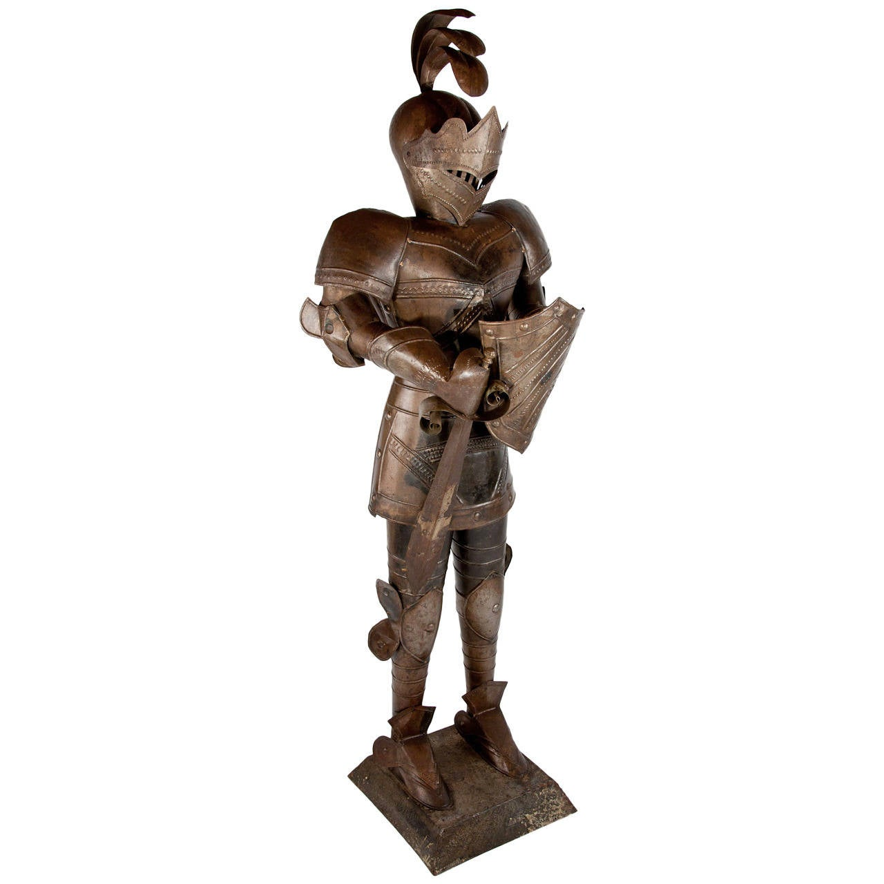 Delightful Life Size Knight In Armour At 1stdibs