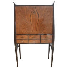 20th Century Italian Art Deco Secretary Desk
