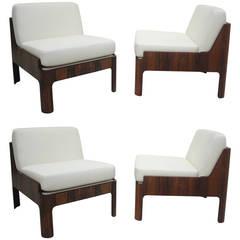 Vintage Isamu Kenmochi Lounge Chairs