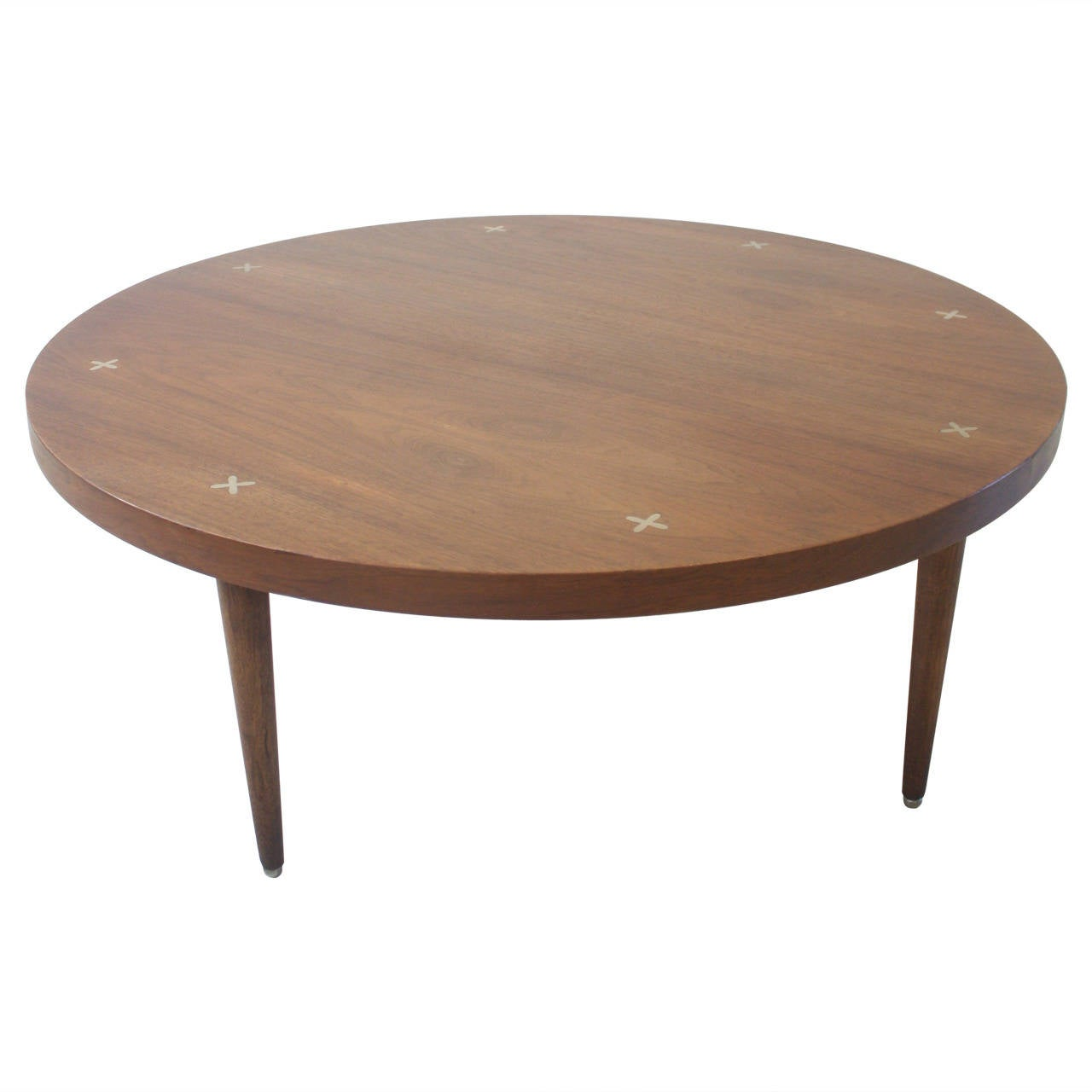 Vintage Walnut Coffee Table By American Of Martinsville For Sale At 1stdibs