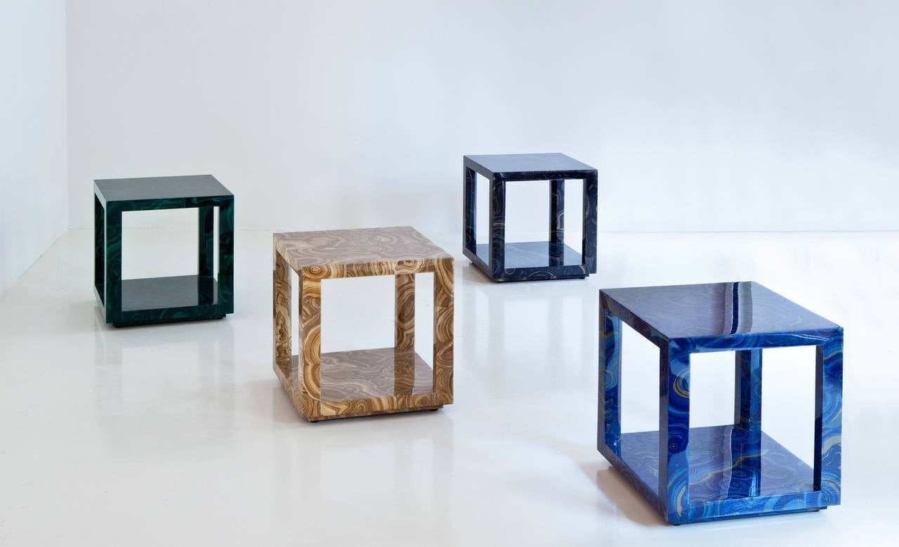 American Liz O'Brien Editions, The Albert Table, Modern Occasional Table For Sale
