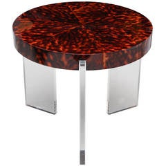 Liz O'Brien Editions, the Sam Table, Modern Side Table