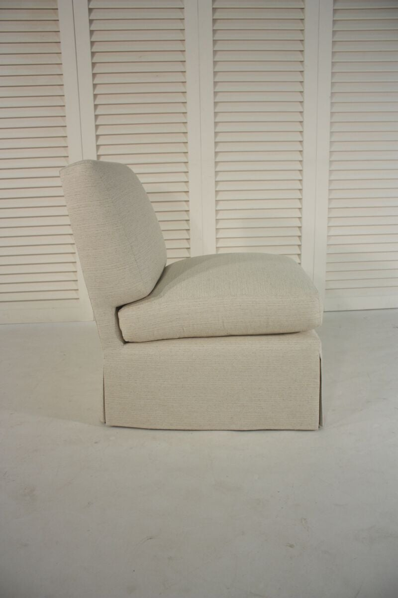 Slipper Chair Inspired by a Billy Baldwin Slipper Chair 2