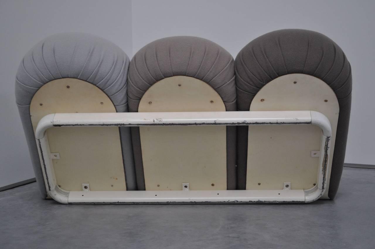 """Foam Pierre Paulin """"Blublub"""" Three-Seat Sofa, 1972 For Sale"""