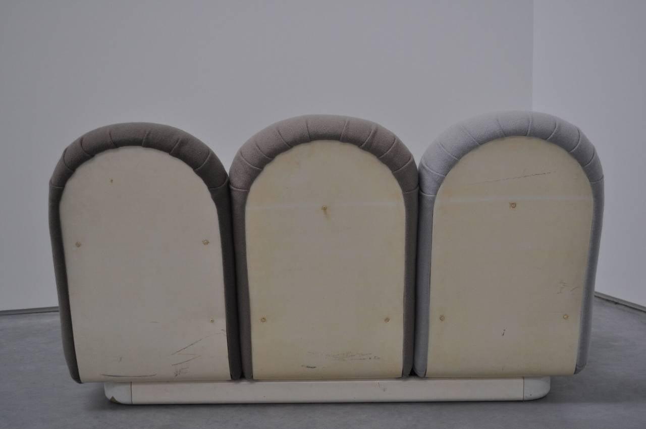 "Pierre Paulin ""Blublub"" Three-Seat Sofa, 1972 For Sale 1"