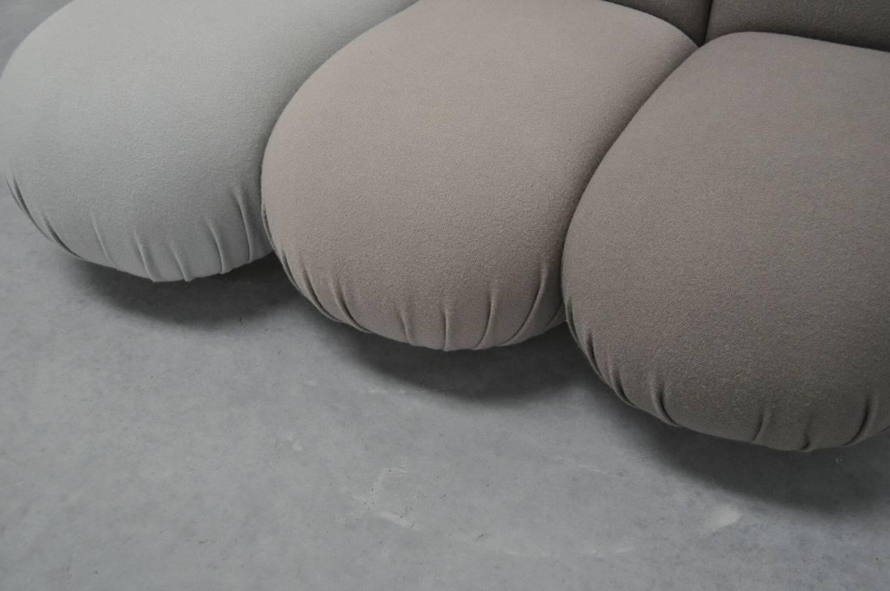 """Pierre Paulin """"Blublub"""" Three-Seat Sofa, 1972 4"""