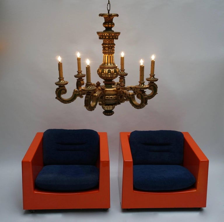 Two Lounge Chairs by Roger Tallon, circa 1970s For Sale 2