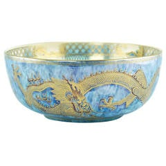 Wedgwood Fairyland Lustre 'Celestial Dragons' Centerpiece Bowl