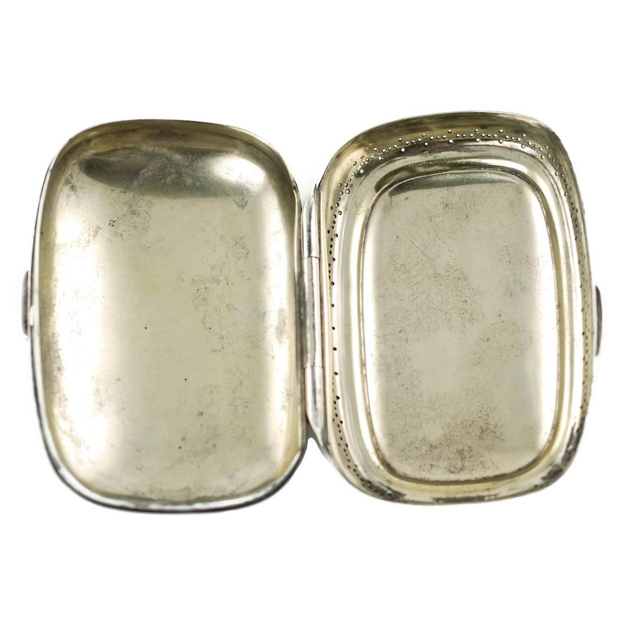 Edwardian Tiffany & Co. Sterling Silver 13-Piece Vanity Set For Sale 2
