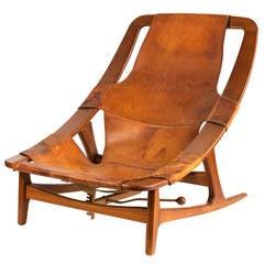 'Holmenkollen' Lounge Chair by Arne F. Tidemand Ruud