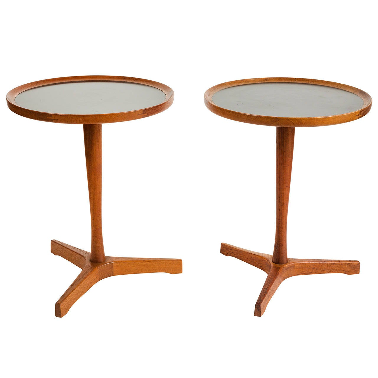 Side tables by hans c andersen at stdibs