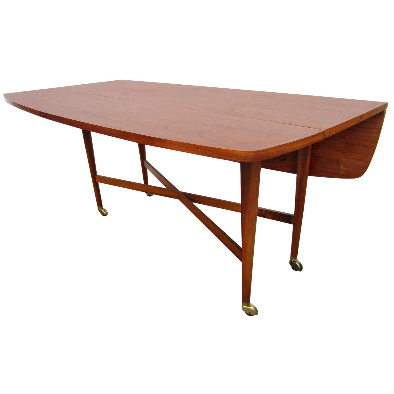1960 drexel declaration kipp stewart mcdougell drop-leaf sofa table