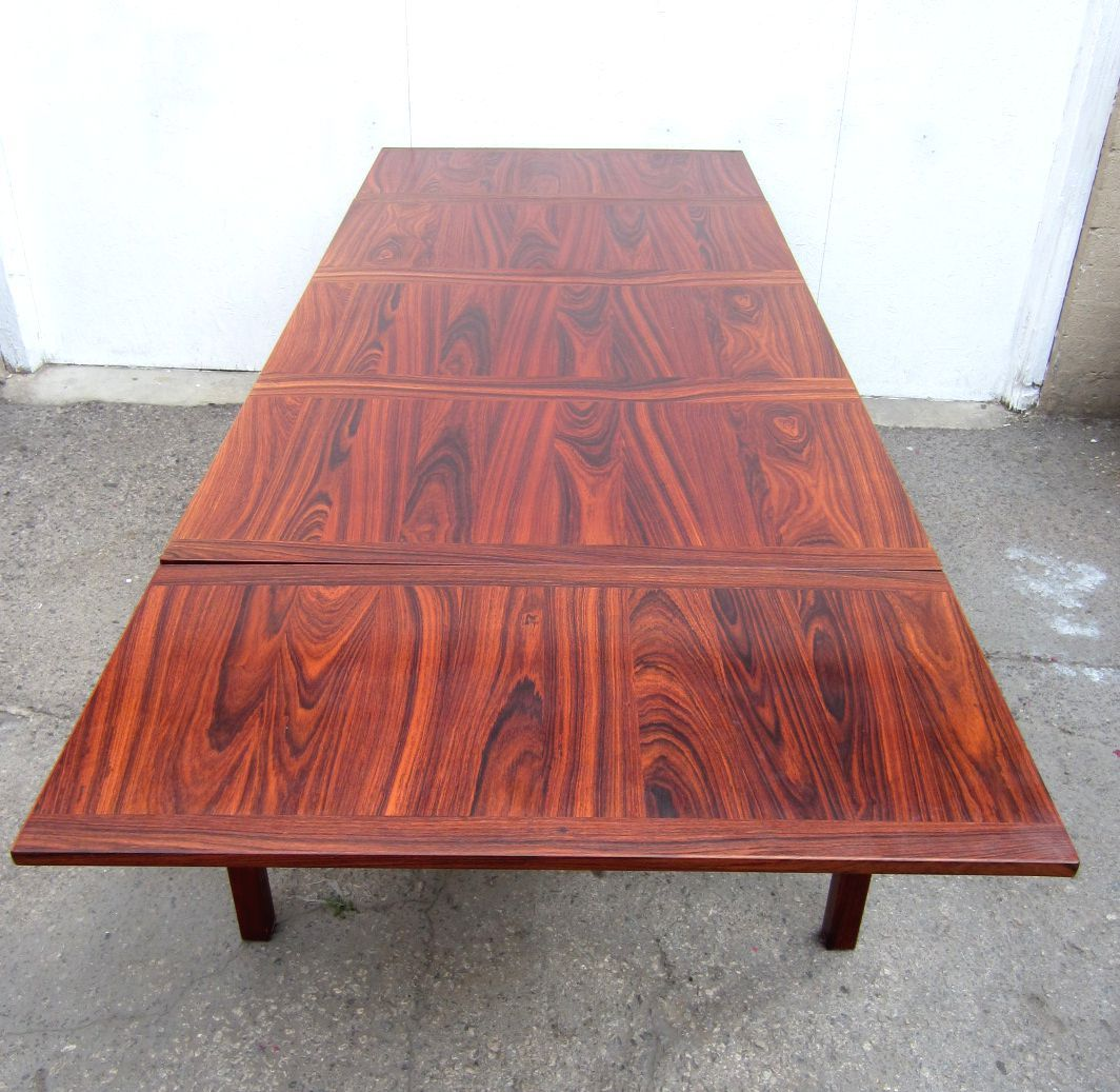 Delicieux Scandinavian Modern Mid Century Danish Modern Eight Foot Rosewood Dining  Table By Kai Winding