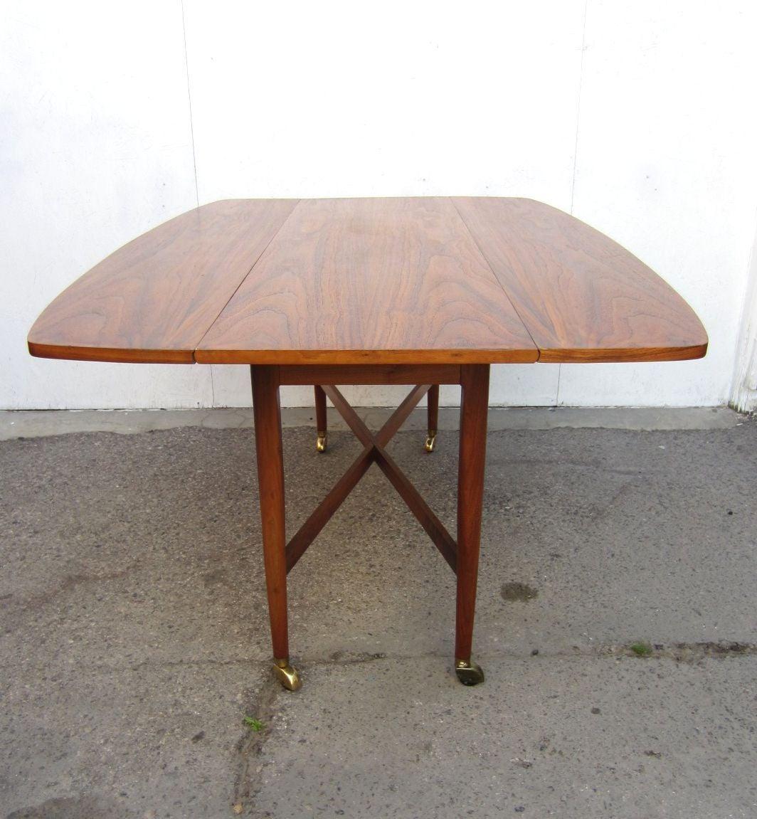 drexel dining room furniture 1960 | 1960 Drexel Declaration Kipp Stewart McDougell Drop-Leaf ...