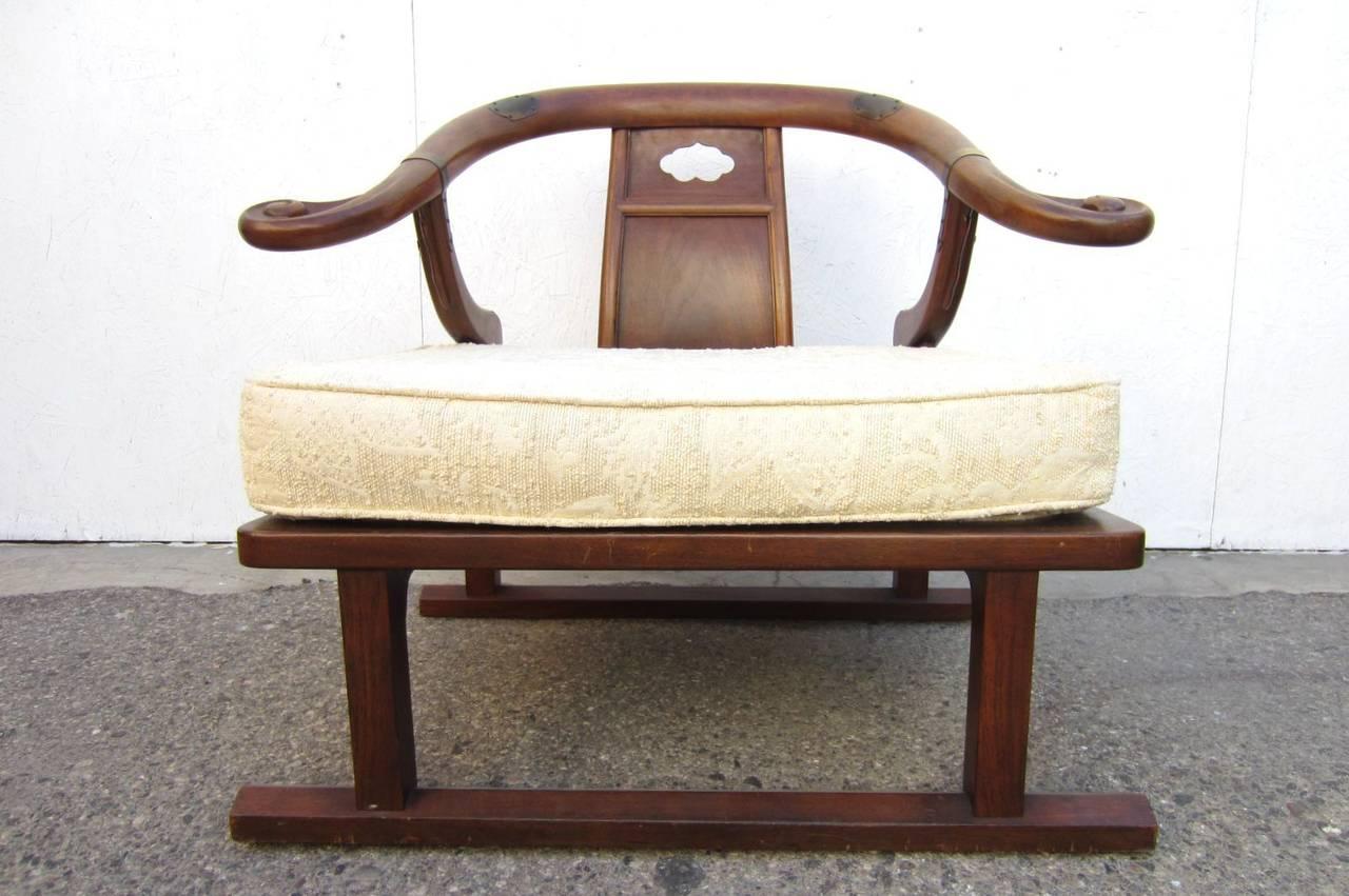 Hollywood Regency Michael Taylor for Baker Furniture Asian
