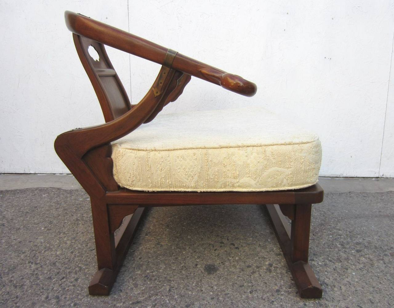 Merveilleux Fabulous 1970u0027s Michael Taylor For Baker Furniture Asian Lounge Chair In  Excellent Condition. SOLID.