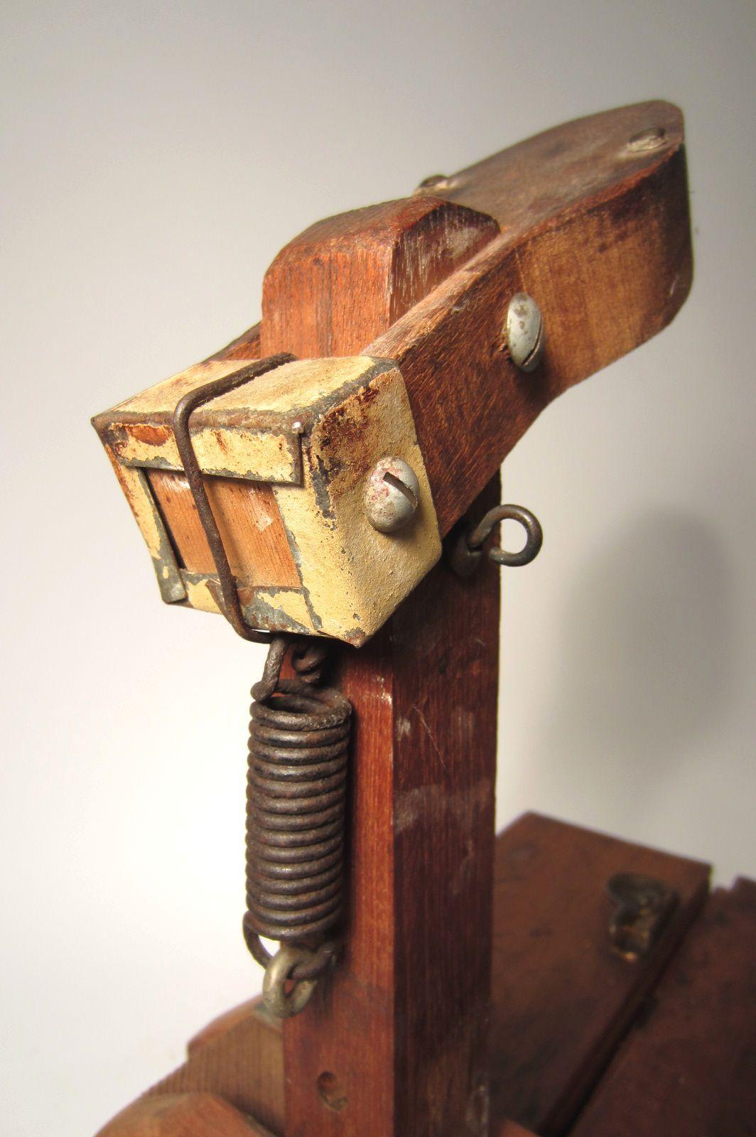 World S Greatest Folk Art Mechanical Shoe Shine Box