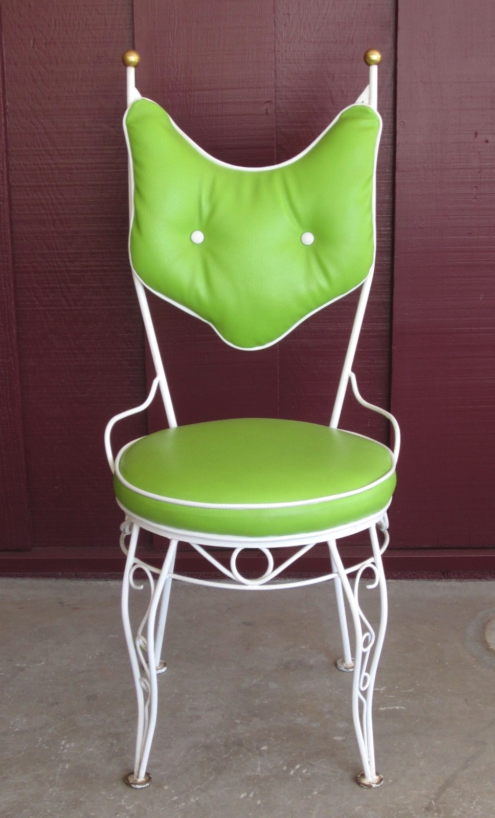 Salterini Patio Furniture Parts: Vintage Salterini Style Patio Chairs And Cafe Table Set