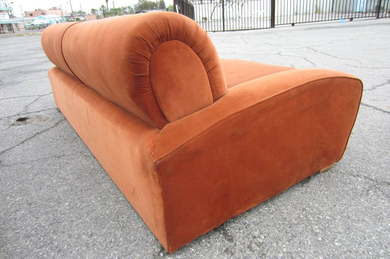 """Mid-20th Century Art Deco Paul Frankl """"Speed"""" Lounge Chair and Sofa Set, circa 1939 For Sale"""