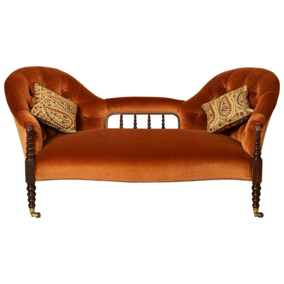 Conversation Sofa At 1stdibs
