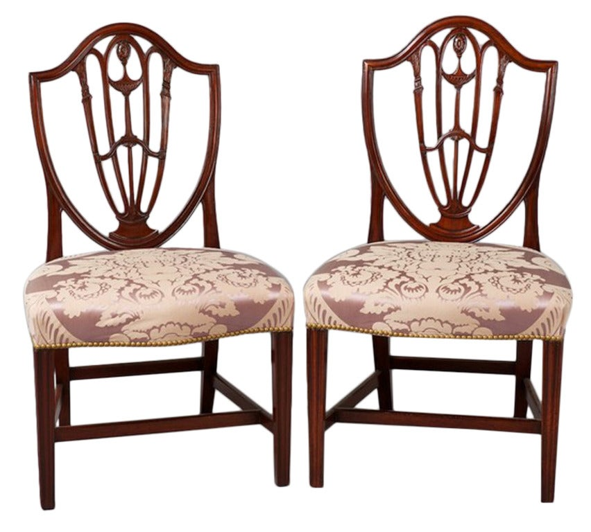 Pair Of Chairs At 1stdibs