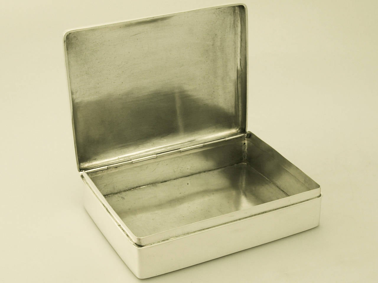 Chinese export silver cigarette box antique circa 1900 for Chinese furniture newcastle