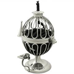 Sterling Silver Wax Jack, Antique George V