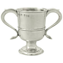 Newcastle Sterling Silver Cup - Antique George III