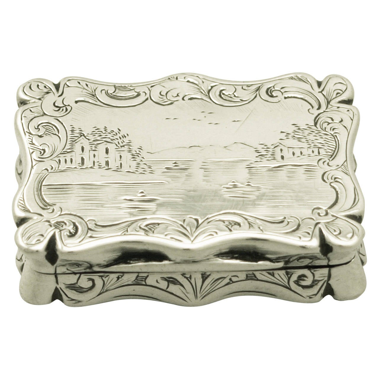 Sterling Silver Vinaigrette Antique Victorian For Sale At 1stdibs