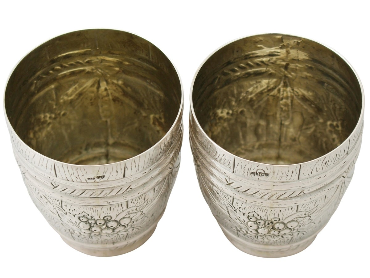 Other German Silver Beakers, Antique circa 1900 For Sale