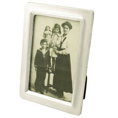 Sterling Silver Photograph Frame, Antique George V