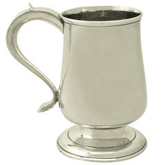 Newcastle Sterling Silver Pint Mug by John Robertson I & David Darling
