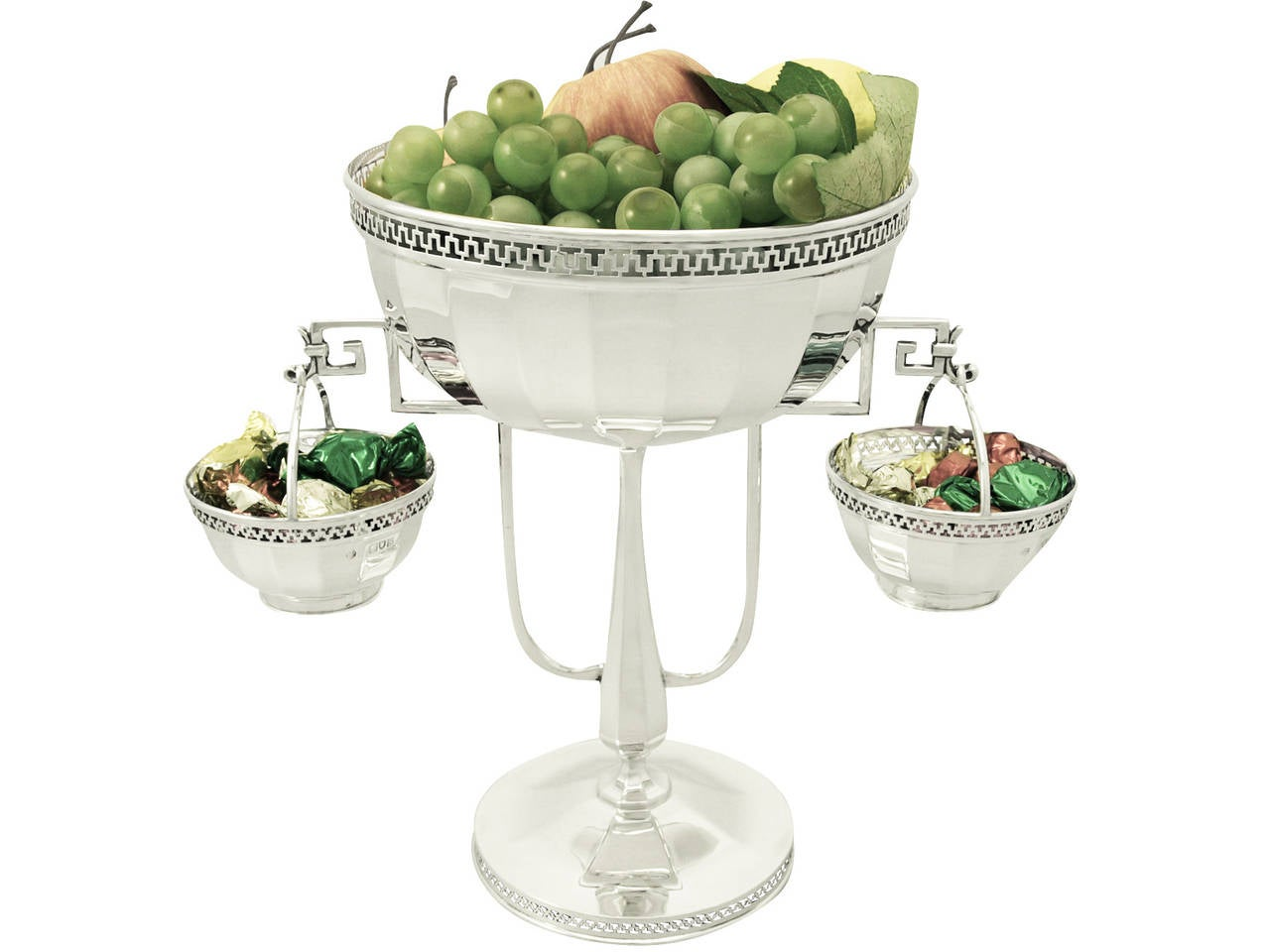 Sterling silver centerpiece antique george v for sale at for Ornamental centrepiece for a dining table